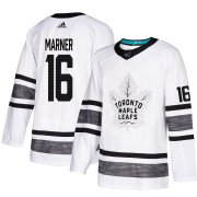 Wholesale Cheap Adidas Maple Leafs #16 Mitchell Marner White 2019 All-Star Game Parley Authentic Stitched NHL Jersey