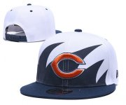 Wholesale Cheap Bears Team Logo Blue Peaked Adjustable Hat