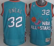 Wholesale Cheap NBA 1996 All-Star #32 Shaquille O'neal Green Swingman Throwback Jersey