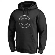 Wholesale Cheap Chicago Cubs Platinum Collection Pullover Hoodie Black