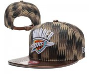 Wholesale Cheap NBA Oklahoma City Thunder Snapback Ajustable Cap Hat XDF 036