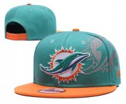 Wholesale Cheap NFL Miami Dolphins Go Fins Gray Adjustable Hat