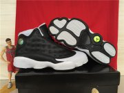 Wholesale Cheap Air jordan 13 Oreo Shoes Black/White