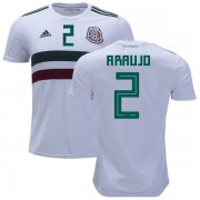 Wholesale Cheap Mexico #2 Araujo Away Kid Soccer Country Jersey