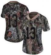 Wholesale Cheap Nike Broncos #13 KJ Hamler Camo Women's Stitched NFL Limited Rush Realtree Jersey
