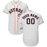 Wholesale Cheap Houston Astros Majestic Home Flex Base Authentic Collection Custom Jersey White
