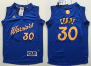 Cheap Youth Golden State Warriors #30 Stephen Curry adidas Royal Blue 2016 Christmas Day Stitched NBA Swingman Jersey