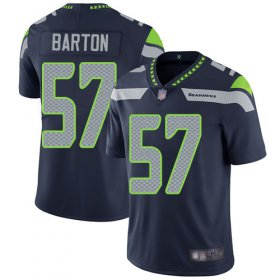 Wholesale Cheap Nike Seahawks #57 Cody Barton Steel Blue Team Color Men\'s Stitched NFL Vapor Untouchable Limited Jersey