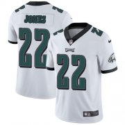 Wholesale Cheap Nike Eagles #22 Sidney Jones White Men's Stitched NFL Vapor Untouchable Limited Jersey