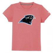 Wholesale Cheap Carolina Panthers Sideline Legend Authentic Logo Youth T-Shirt Pink