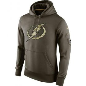 Wholesale Cheap Men\'s Tampa Bay Lightning Nike Salute To Service NHL Hoodie
