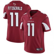 Wholesale Cheap Nike Cardinals #11 Larry Fitzgerald Red Team Color Men's Stitched NFL Vapor Untouchable Limited Jersey