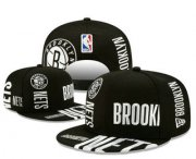 Wholesale Cheap Brooklyn Nets Snapback Ajustable Cap Hat YD 2