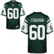 Wholesale Cheap Jets #60 D'Brickashaw Ferguson Green Stitched NFL Jersey