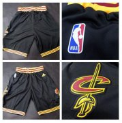 Wholesale Cheap Men's Cleveland Cavaliers 2016 New Black Shorts