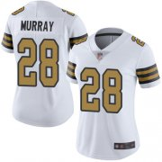 Wholesale Cheap Nike Saints #28 Latavius Murray White Women's Stitched NFL Limited Rush Jersey