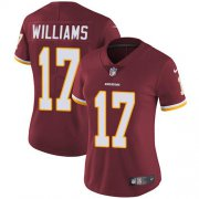 Wholesale Cheap Nike Redskins #17 Doug Williams Burgundy Red Team Color Women's Stitched NFL Vapor Untouchable Limited Jersey