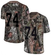 Wholesale Cheap Nike Colts #74 Anthony Castonzo Camo Youth Stitched NFL Limited Rush Realtree Jersey
