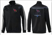 Wholesale Cheap NFL Arizona Cardinals Victory Jacket Black_1