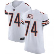 Wholesale Cheap Nike Bears #74 Germain Ifedi White Men's Stitched NFL New Elite Jersey