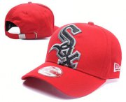 Wholesale Cheap Chicago White Sox Snapback Ajustable Cap Hat GS 4