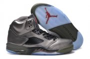 Wholesale Cheap Air Jordan 5 Shoes Silver/black/red