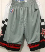 Wholesale Cheap Men's Houston Rockets Gray Basketball Shorts