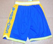Wholesale Cheap Men's Golden State Warriors The City Lights Blue Short