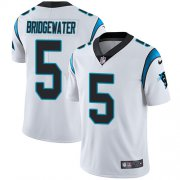 Wholesale Cheap Nike Panthers #5 Teddy Bridgewater White Youth Stitched NFL Vapor Untouchable Limited Jersey