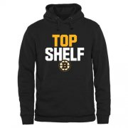 Wholesale Cheap Boston Bruins Top Shelf Pullover Hoodie Black