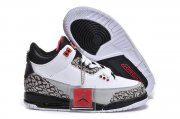 Wholesale Cheap Kids Air Jordan 3 Retro Infrared 23 white/black-red
