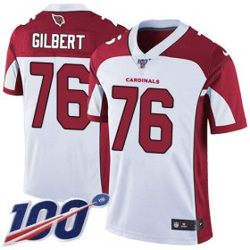 Wholesale Cheap Nike Cardinals #76 Marcus Gilbert White Men\'s Stitched NFL 100th Season Vapor Limited Jersey