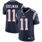 Wholesale Cheap Nike Patriots #11 Julian Edelman Navy Blue Team Color Youth Stitched NFL Vapor Untouchable Limited Jersey