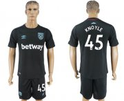 Wholesale Cheap West Ham United #45 Knoyle Away Soccer Club Jersey