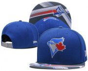 Wholesale Cheap MLB Toronto Blue Jays Snapback Ajustable Cap Hat 7