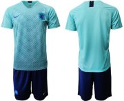 Wholesale Cheap Holland Blank Away Soccer Country Jersey