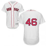 Wholesale Cheap Red Sox #46 Craig Kimbrel White Flexbase Authentic Collection Stitched MLB Jersey