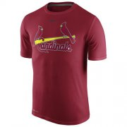 Wholesale Cheap St.Louis Cardinals Nike Legend Wordmark 1.5 Performance T-Shirt Red
