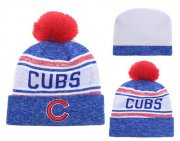 Wholesale Cheap MLB Chicago Cubs Logo Stitched Knit Beanies 007