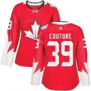 Wholesale Cheap Team Canada #39 Logan Couture Red 2016 World Cup Women's Stitched NHL Jersey