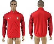 Wholesale Cheap Portugal Soccer Jackets Red