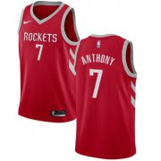Wholesale Cheap Nike Houston Rockets #7 Carmelo Anthony Red NBA Swingman Icon Edition Jersey