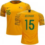 Wholesale Cheap Australia #15 Jedinak Home Soccer Country Jersey