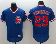 Wholesale Cheap Cubs #23 Ryne Sandberg Blue Flexbase Authentic Collection Cooperstown Stitched MLB Jersey