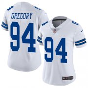 Wholesale Cheap Nike Cowboys #94 Randy Gregory White Women's Stitched NFL Vapor Untouchable Limited Jersey