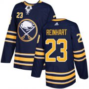 Wholesale Cheap Adidas Sabres #23 Sam Reinhart Navy Blue Home Authentic Youth Stitched NHL Jersey