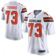 Wholesale Cheap Nike Browns #73 Joe Thomas White Men's Stitched NFL New Elite Jersey