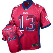 Wholesale Cheap Nike Giants #13 Odell Beckham Jr Red Alternate Men's Stitched NFL Elite Drift Fashion Jersey