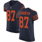 Wholesale Cheap Nike Bears #87 Adam Shaheen Navy Blue Alternate Men's Stitched NFL Vapor Untouchable Elite Jersey
