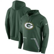 Wholesale Cheap Men's Green Bay Packers Nike Green Champ Drive Vapor Speed Pullover Hoodie